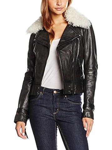 Belstaff - Women Leather Jackett - Sloane - Biker Style - Gr. IT 40 / EU 34 -