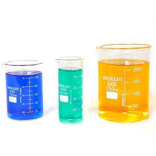 Glasbecher aus Borosilikat, dick, niedrige Form, 50, gebraucht gebraucht kaufen  Wird an jeden Ort in Deutschland