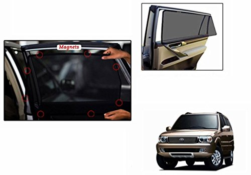 Accedre Magnetic Car Sunshades (Set Of 6)-Tata Safari 2.2 Dicor