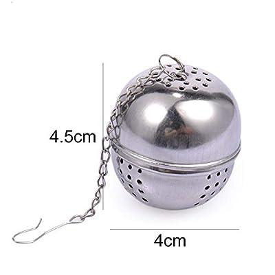 KiGoing Boule d'infuseurs de thé de Tamis à thé, Tamis de Boule de thé de Conception de Marteau d'acier Inoxydable