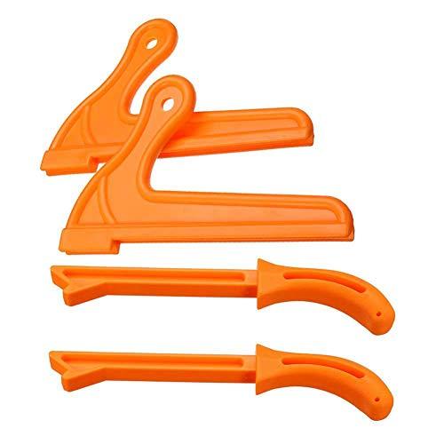 es Sicherheits Schubstock Set Holzbearbeitungswerkzeuge Und Zubehör Für Tischkreissägen Fräser Tischlerhandschutz ()