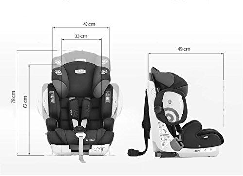 HJHY® Asiento de seguridad infantil, 9 meses -12 años Uso del automóvil Asiento de seguridad infantil Interfaz dura isofix ( Color : #3 )