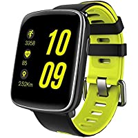 Mindkoo Watch GV68 Orologio impermeabile IP68 Smart Watch con monitor della frequenza cardiaca Sport Smart Watch Touch Screen Monitoraggio del sonno Pedometro per Android / Apple iOS