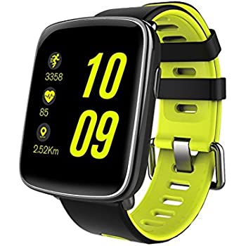 Smart Watch MindKoo Reloj Inteligente de Pulsera Muñeca Impermeable de IP68 Deportivo Bluetooth 4.0 Multifunciones Correa