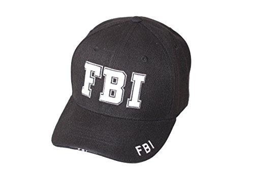 Rapdom - Gorra béisbol - Hombre FBI-Schwarz