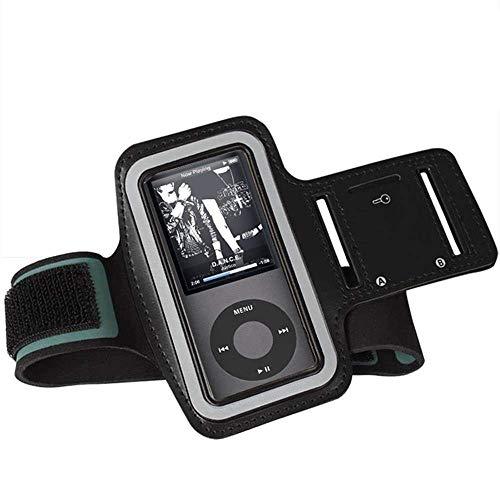 CCHKFEI verstellbares Sportarmband für MP3-Player, kratzfestes Material, schweißfest und atmungsaktiv, für Ihr Training geeignet