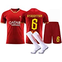 Conjunto de Kit de Chaleco Superior de Pantalones Cortos de fútbol, Gtrootman Totti, Conjunto de Manga Corta de Playa de Verano, Chaleco Deportivo Fitness Star Gift