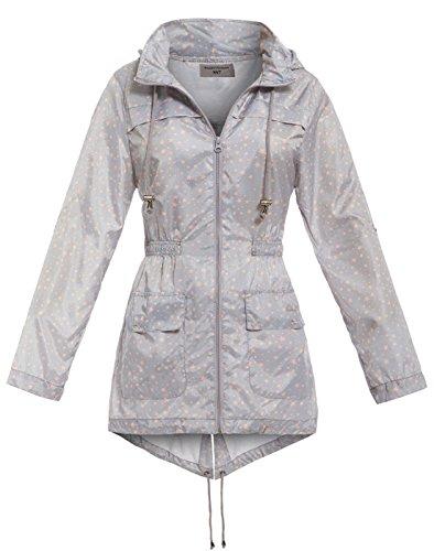 SS7 - Abrigo impermeable - Parka - mujer gris Grey