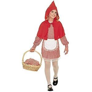 WIDMANN Widman - Disfraz de Caperucita Roja para niña, talla M (8-10 años) (38547)