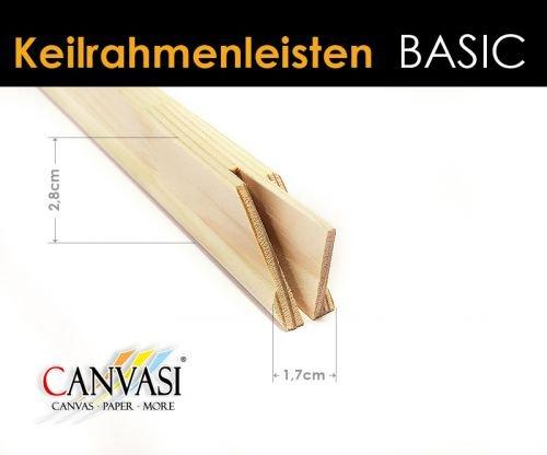 Keilrahmenleisten Basic - FSC zertifiziert Größe 30cm