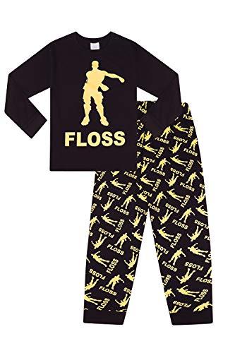 The pyjama factory -  pigiama due pezzi - ragazzo nero 9-10 anni