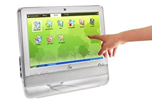 ASUS Eee Top 1602-WT-X0010 All-in-One PC (Intel Atom 1.6GHz, 1GB RAM, 160GB HDD, Windows XP, White)