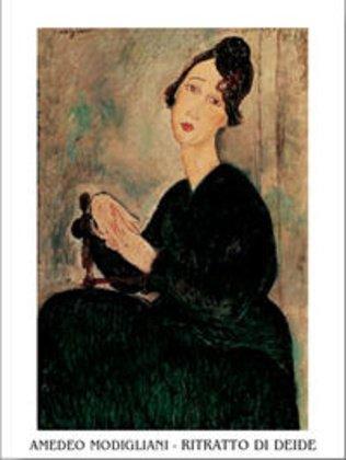 Amedeo Modigliani Kunstdruck (Amedeo Modigliani Poster Kunstdruck Ritratto Di Dedie Poster Kunstdruck)