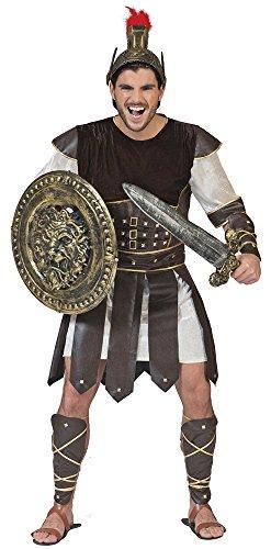 Priscus Kostüm für Herren - Gr. 48 50 (Spielzeug Schilde Und Schwerter)