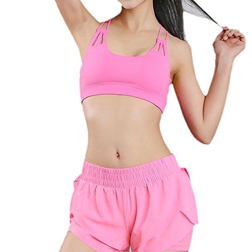Honghu Active Sport BH Femme Rose