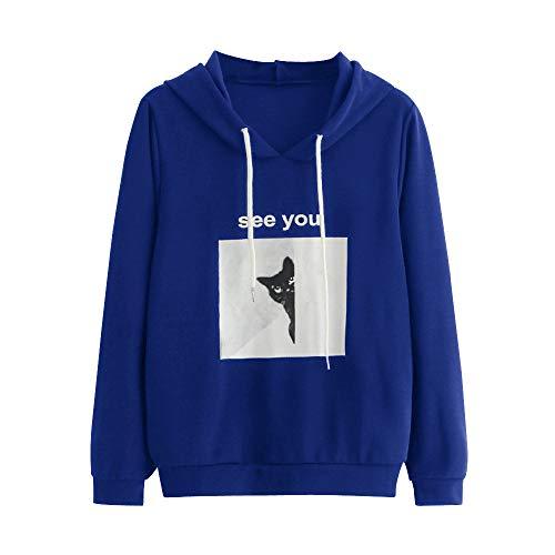 emp boehse onkelz TOPKEAL Hoodie Tasche Langarm Pullover Damen Herbst Winter Kapuzenpullover  Lässiges Hemd Sweatshirt Winterpullover Jacke Mantel Tops Mode 2018