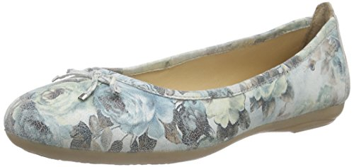 Marc Shoes Janine, Ballerines fermées femme Multicolore - Mehrfarbig (lt.grey-multicolour 901)