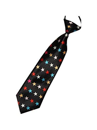 UtopyaUK - Cravate - Garçon Colourful Stars