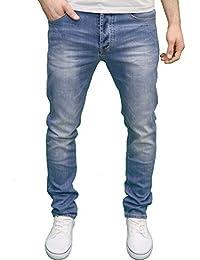 Eto Mens Designer Branded Slim Fit Tapered Denim Jeans