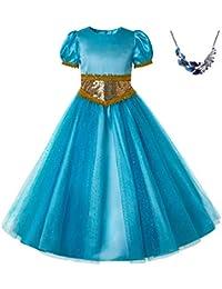 7e0bffbb38383 Pettigirl Filles Sequin Princess Dress Up Costume Outfit