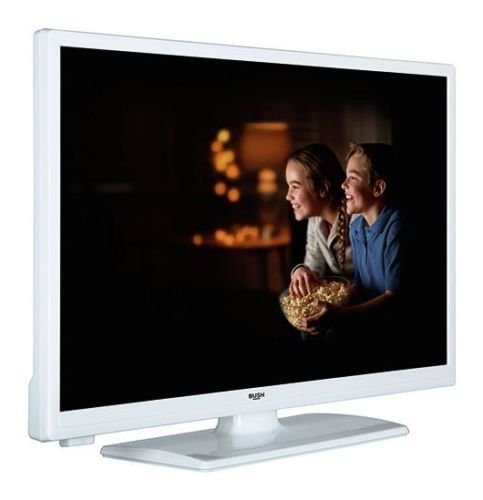 Bush 32 Inch HD Ready LED TV with DVD Combi - White   Freeview HD