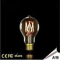 20w RSEN Vintage-Edison-Gl/ühbirne E27 60W 2300K 200lm ST64 warmwei/ß Gl/ühwendel Gl/ühlampe Industrie nostalgischen Retro-Stil