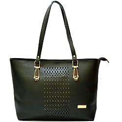 INKDICE Women's Handbag Premium Quality(Olive Green,C1OL)