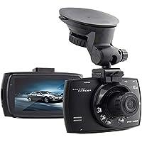 SMARTEX   Dashcam Car DVR Full HD 1080p - videocamera per automobile - IR vision per riprese notturne - G-Sensor per motion detect - Schermo 2,7