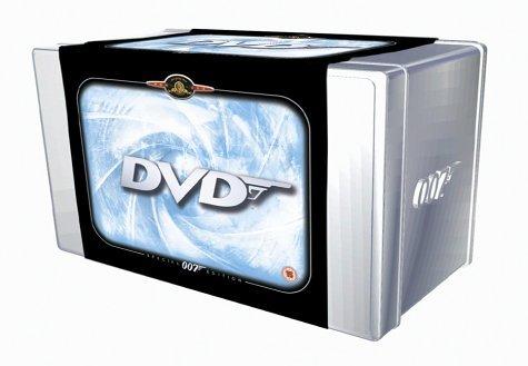 The James Bond Collection - 20 Disc Box Set? [DVD] by Pierce Brosnan (Box-set-dvd-james Bond)