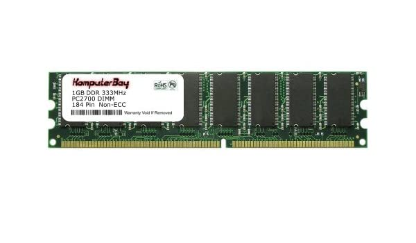 Komputerbay 1GB DDR DIMM 333Mhz DDR333 PC2700 For Amazonin Electronics