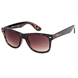 Farenheit SOC-FA-903-c4 Brown Wayfarer Sunglass