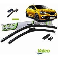 Valeo_group Valeo Juego de 2 escobillas de limpiaparabrisas Especiales para Renault Megane