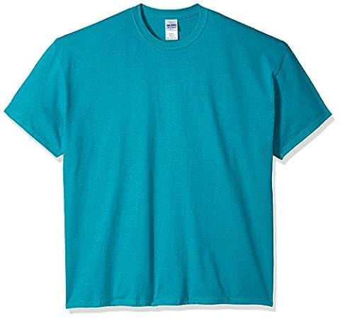 Gildan - T-shirt à manches courtes - Homme (2XL) (Bleu clair)