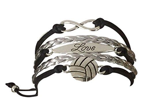 VOLLEYBALL Armband Mädchen Volleyball Jewelry-Volleyball Geschenke für Spieler - Bulk-sport-band