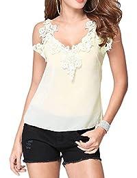 Amazon.fr   péplum - T-shirts, tops et chemisiers   Femme   Vêtements afda1686dfa7