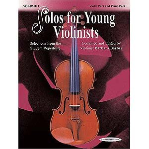 Solos for Young Violinists - Volume 1 (Book)