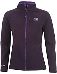 Karrimor Womens Ladies Fleece Jacket Long Sleeve Zip High Collar Pockets