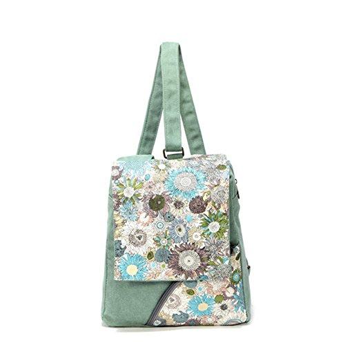 borsa a tracolla Ms./versione coreana di casual zaino femminile/borsa di tela semplice-A A
