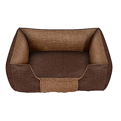 GWM Pet Mat, Large Dog Kennel Cat House Removable And Washable Pet Nest Wear-resistant Bite Pet Bed by GWM