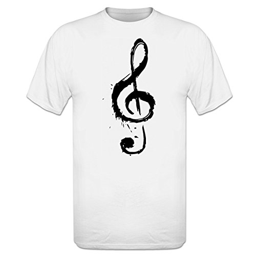 Camiseta Music Note Splash by Shirtcity