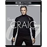 007: Daniel Craig as James Bond 4 Movies Collection on 4K Ultra HD - Casino Royale + Quantum of Solace + Skyfall + Spectre