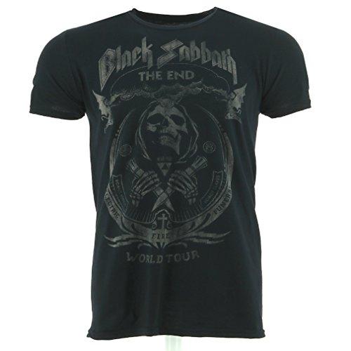 negro Sabbath The End Mushroom Cloud Camiseta Oficial Con licencia música
