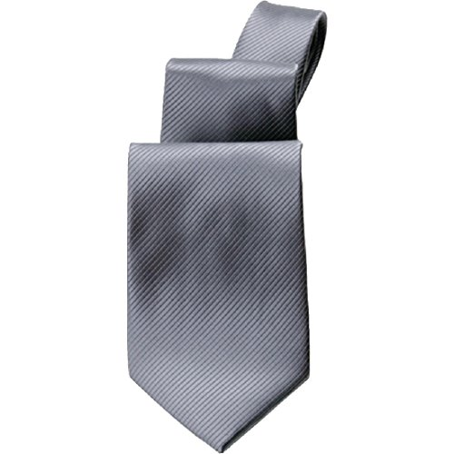 Uniform Works A929 Uni Krawatte, grau Plain Mens Tie
