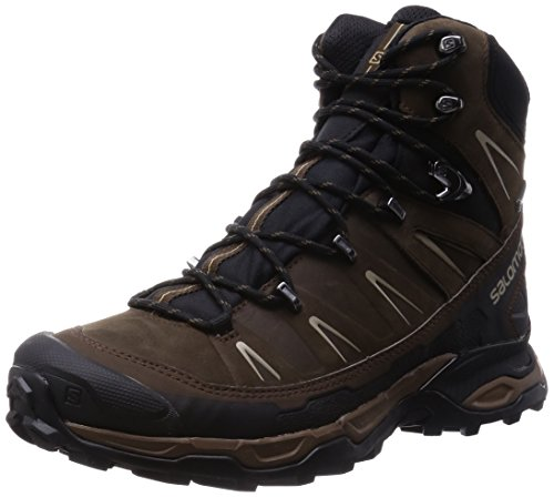 Salomon X Ultra Trek, Chaussures de Randonnée Hautes homme Marron (Absolute Brown-X/Black/Navajo)