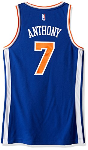 NBA New York Knicks Carmelo Anthony # 7 Damen Replica Jersey, Damen, Road, Road (Jersey Carmelo Anthony)