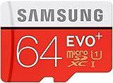 #3: Samsung EVO Plus 64GB Class 10 (white Red)