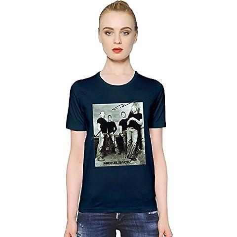 Nickelback Rock Band Womens T-shirt