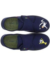 Beck 612 - Zapatillas de casa de tela para niño