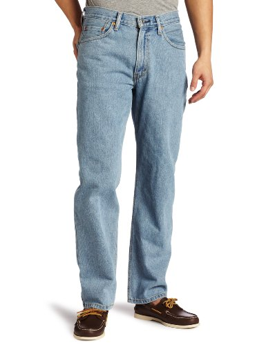 Levis - ® 550 Relaxed Fit Jeans in Light Stonewash, 29W x 30L, Light Stonewash - Levis 550 Jeans