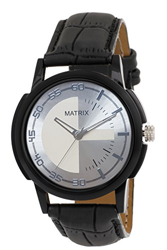 Matrix Analog Silver Colour Dial Men's & Boys Watch-WCH-214  available at amazon for Rs.150